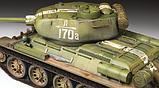 Советский средний танк Т-34/85, сборная модель, 1:35, фото 6