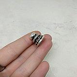 Шляпка из серебра, 13х15мм, фото 2