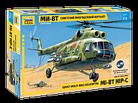 Советский многоцелевой вертолёт Ми-8Т, сборная модель, 1\72