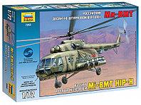 Российский десантно-штурмовой вертолет Ми-8МТ, сборная модель, 1:72, фото 1