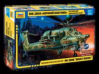 """Сборная модель Российский ударный вертолет Ми-28НЭ """"Ночной охотник"""", 1:72, фото 1"""