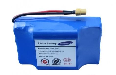 Аккумулятор для гироскутера,сигвея Samsung 36v(4400 mAh)