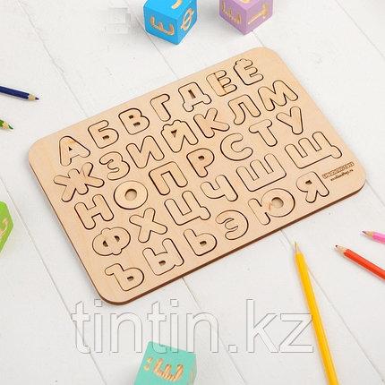 Рамка-вкладыш - Русский Алфавит, 19,5×27,5×0,6 см, фото 2