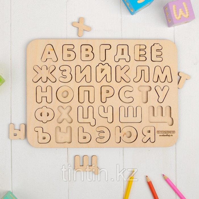 Рамка-вкладыш - Русский Алфавит, 19,5×27,5×0,6 см
