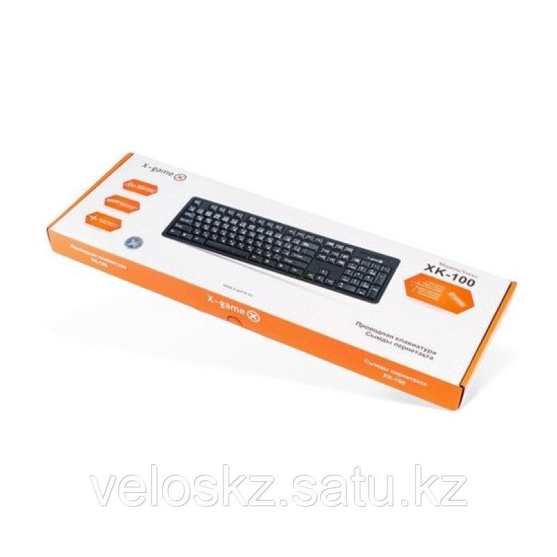 Клавиатура проводная X-Game XK-100PB Black USB