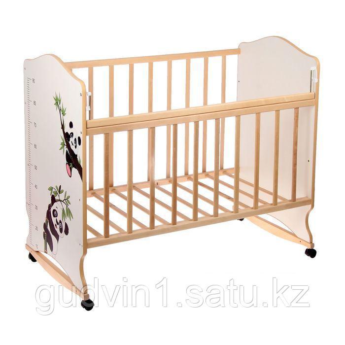 Детская кроватка ВДК Морозко (беж,белый,береза-белый,беж-береза)