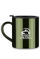 Кружка-термос ARCTICA с крышкой 0,45л. цвет Болотный