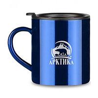 Кружка-термос ARCTICA с крышкой 0,45л. Цвет Синий