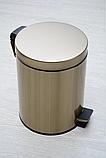 Педальная урна (бронза) 8 литров, фото 2