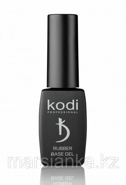 Rubber base gel white Kodi (белая каучуковая база), 8мл