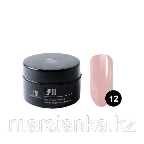 Гель-желе TNL #12 камуфлирующий темно-розовый, 18мл, фото 2