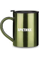 Кружка-термос ARCTICA с крышкой 0,3 л. цвет Болотный
