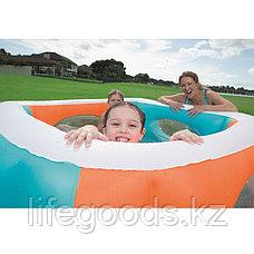 """Детский надувной бассейн """"Окошки"""" 168х168х56см, Bestway 51132, фото 3"""