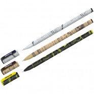 """Ручка шариковая Berlingo """"Funline"""", рисунок на корпусе, 0,7 мм, синяя"""