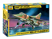 Советский истребитель-бомбардировщик МиГ-27, сборная модель, 1:72, фото 1