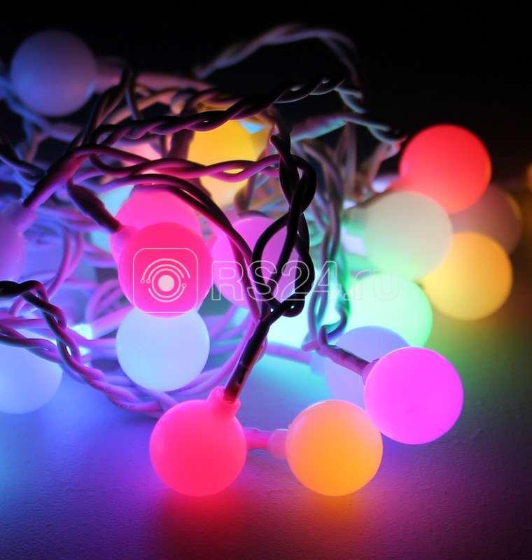 Гирлянда светодиодная 100 LED Шарики 2.5 см