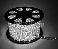 Шнур светодиодный Дюралайт постоянного свечения 2W 220В 1.8Вт/м d13мм белый