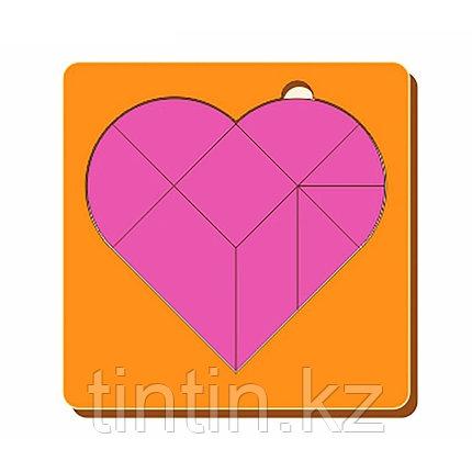 Головоломка - Сердце (14х14х0,5см), фото 2