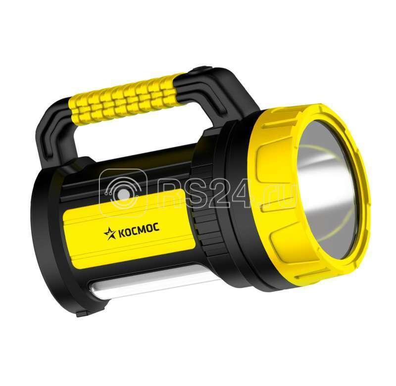 Фонарь светодиодный 5W LED 3 режима бок. панель 10Вт