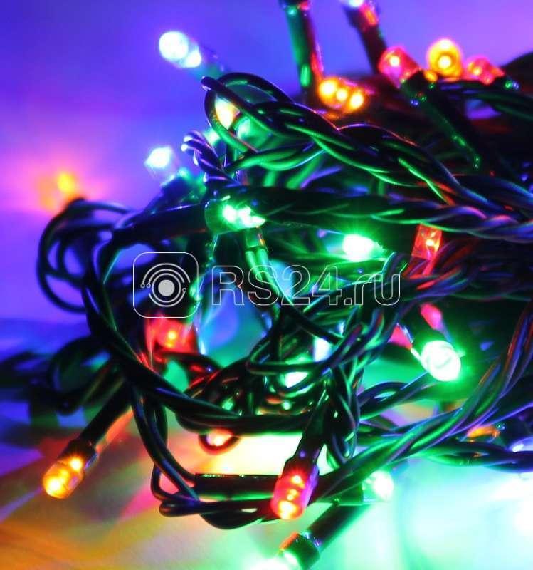Гирлянда светодиодная 200LED шнур 21.5м IP20 мультиколор