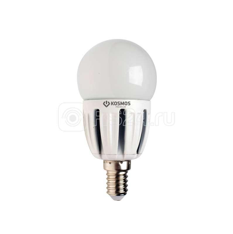 Лампа светодиодная LED KOSMOS premium 5Вт Шар 45мм E14 230В 3000К