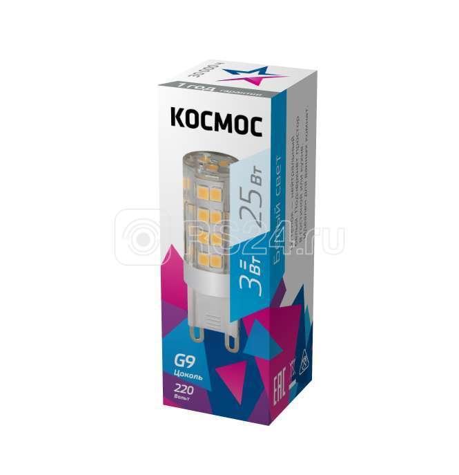 Лампа светодиодная LED 3Вт 220В G9 4500К