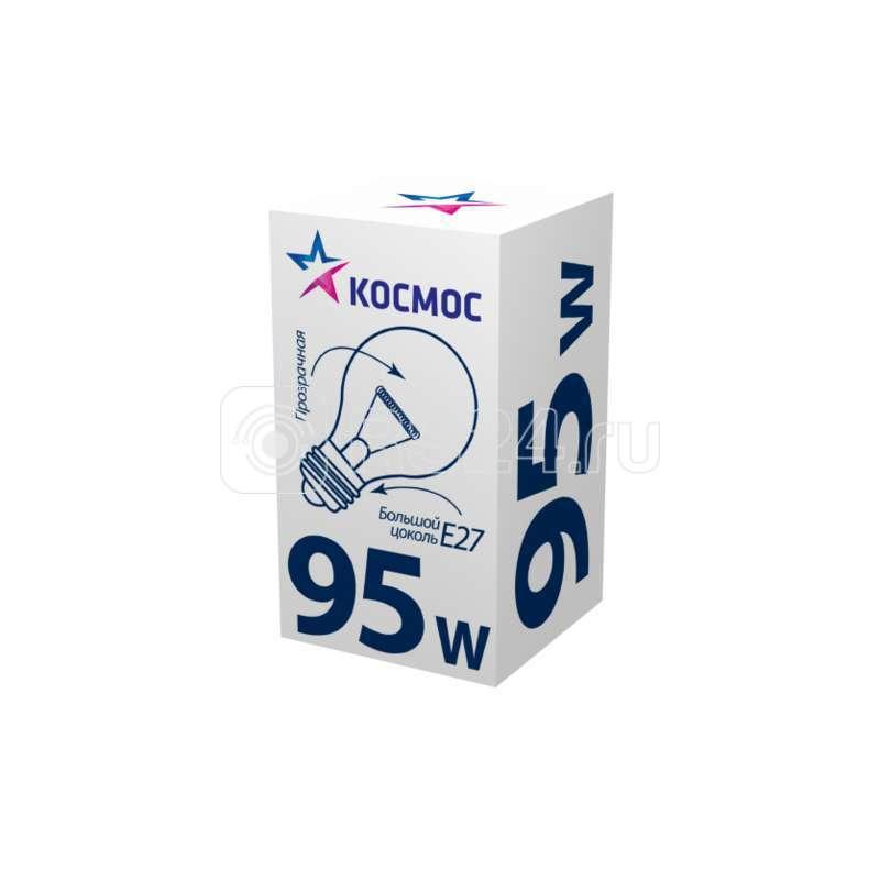 Лампа накаливания A50/A55 95Вт E27 220-240В прозр.