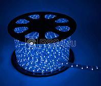 Шнур светодиодный Дюралайт синий постоянного свечения 2W 220В 1.8Вт/м d13мм