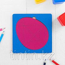 Головоломка - Колумбово яйцо (14х14х0,5см), фото 3