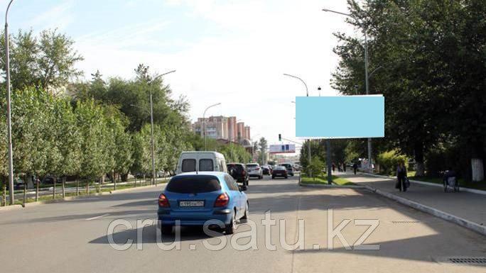 Ул. Абая 116, возле стадиона «Окжетпес»