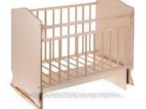 Детская кровать МОРОЗКО с маятником + ящик ,цвет белый