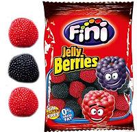"""Fini Мармелад mini """"Красные и черные ягоды в обсыпке"""" 100 гр. / Испания, фото 1"""