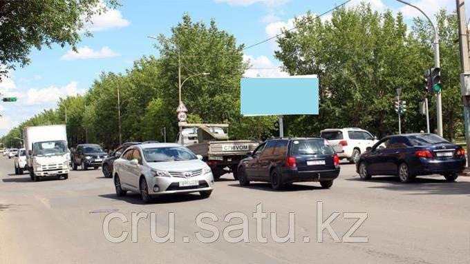Ул. Ауэзова-ул. Темирбекова, угол СШ №1