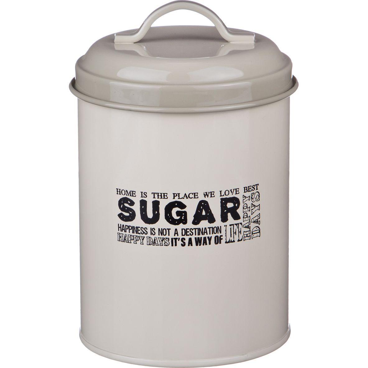 Емкость для сыпучих продуктов Agness высота 15 см., диаметр 11 см.