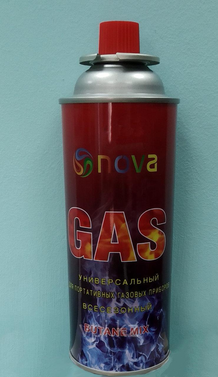 Газ универсальный для портативных газовых приборов, 220гр.  NOVA