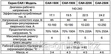 Сварочный аппарат РЕСАНТА САИ 250 Компакт, фото 3