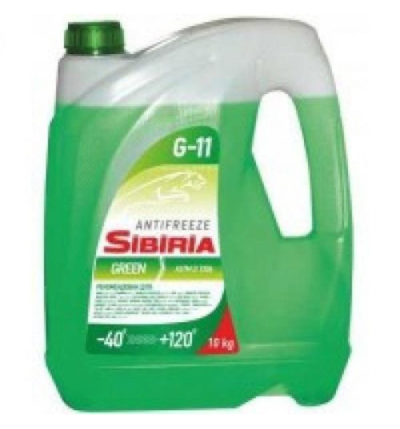 Антифриз Sibiria antifreeze ОЖ-40 зеленый
