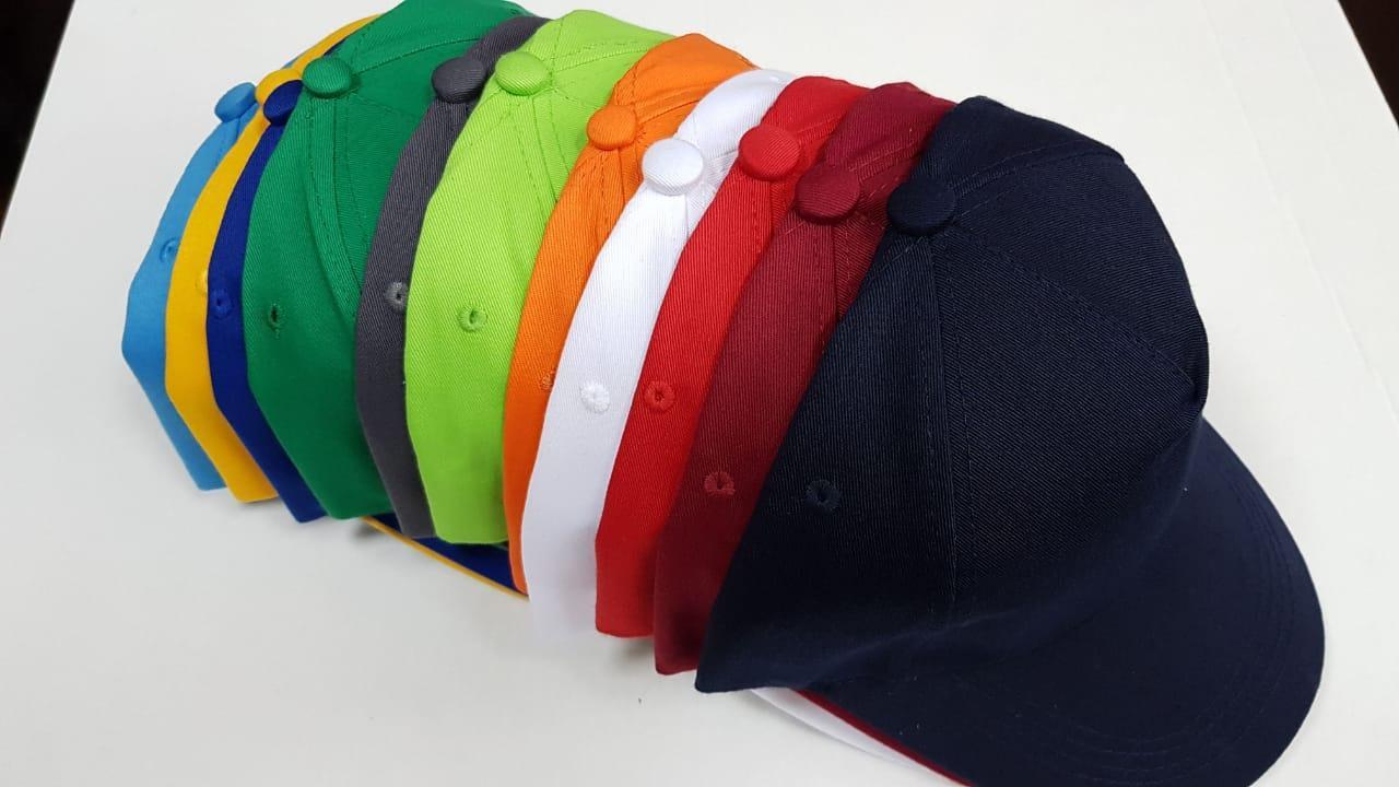 Бейсболки, кепки разного цвета под нанесение логотипа