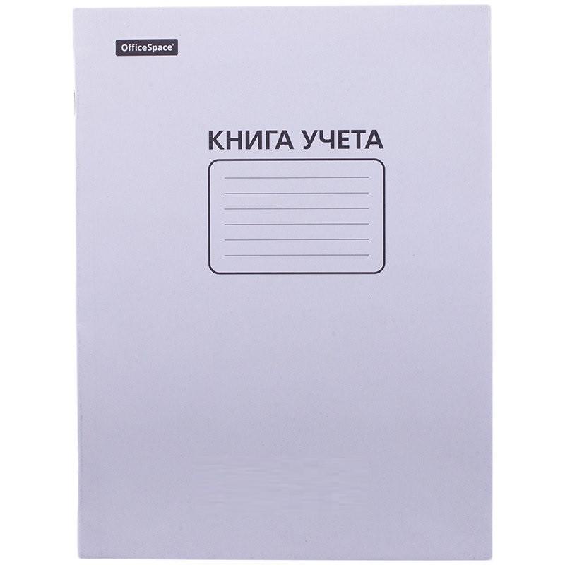Книга учета OfficeSpace А4, в клетку, 60 листов