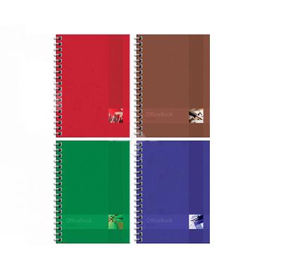 """Записная книжка ArtSpace """"Моноколор Office book"""" А6, 96 листов на гребне, клетка"""