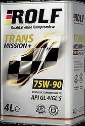 Трансмиссионное масло ROLF Transmission SAE 75W-90, API GL-4