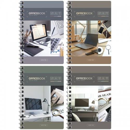 "Записная книжка ArtSpace ""Офис. Worktime"" А6, 120 листов на гребне, клетка"