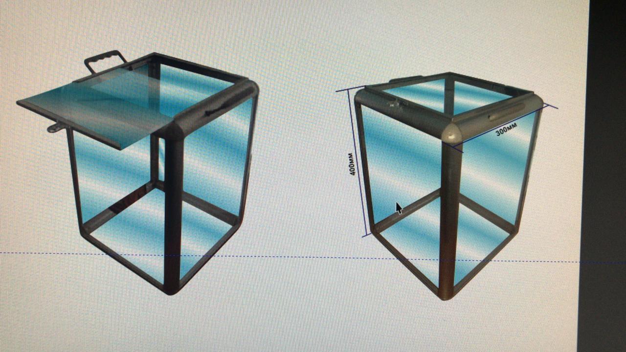 Декоративный профиль для плитки (6 м)