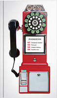 "Телефонная книга OfficeSpace ""Таксофон"" А5, 126 x 216 мм, 160 страниц, линия"