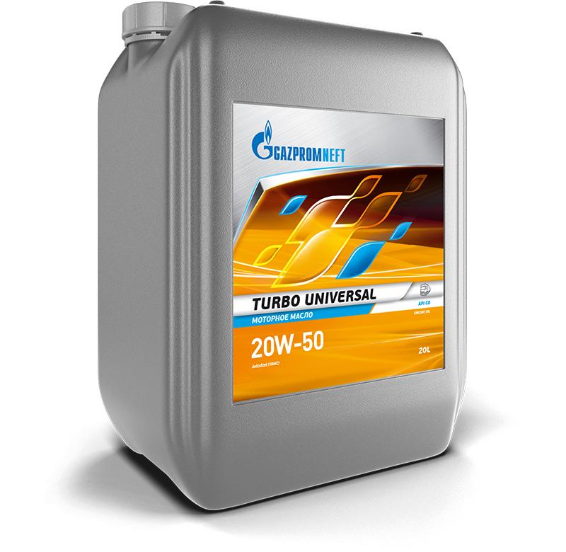 Минеральное масло Газпром Turbo Universal 20W-50 30л.