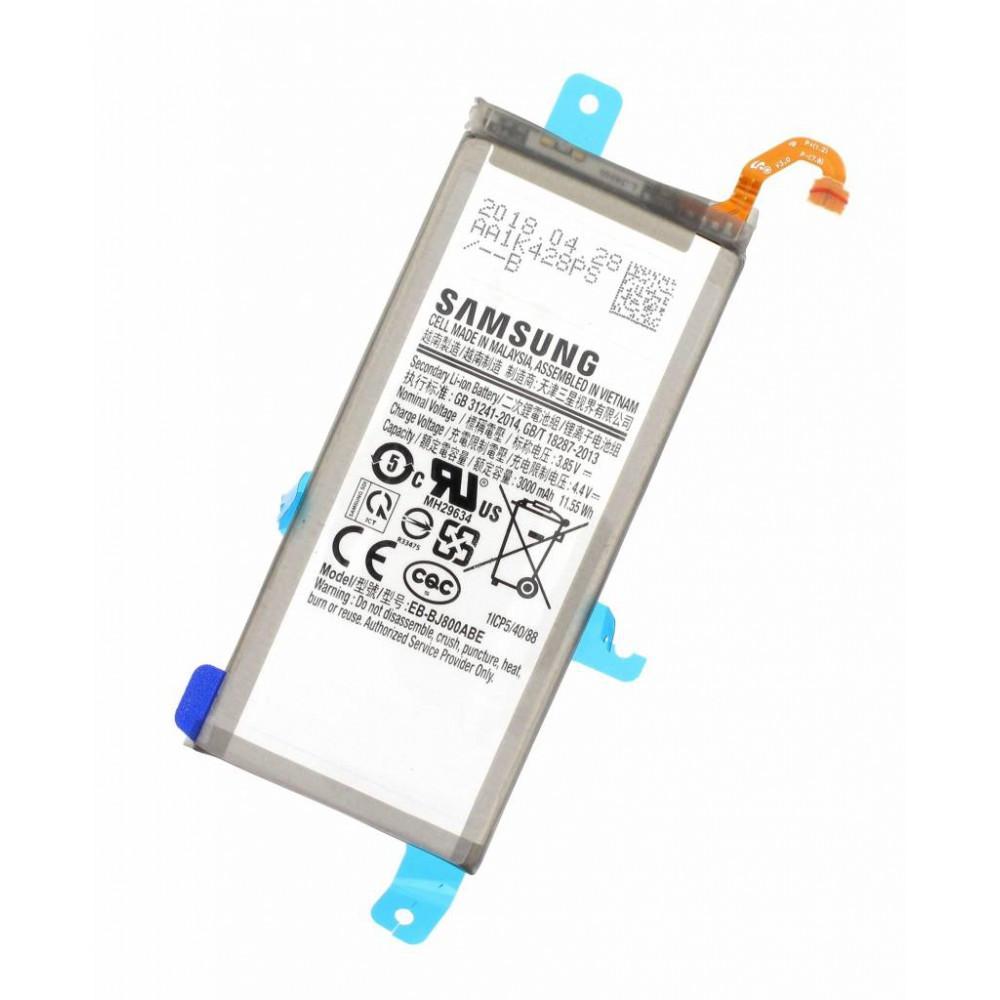 Заводской аккумулятор для Samsung Galaxy J6 (EB-BJ800ABE, 3000 mAh)