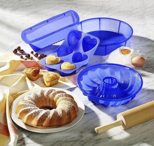 Набор силиконовых форм MIRACLE PANS