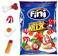 """Fini Мармелад mini """"Кино микс"""" 100 гр. / Испания"""