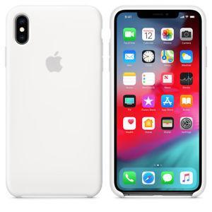 Силиконовый чехол для Apple iPhone XR (белый)