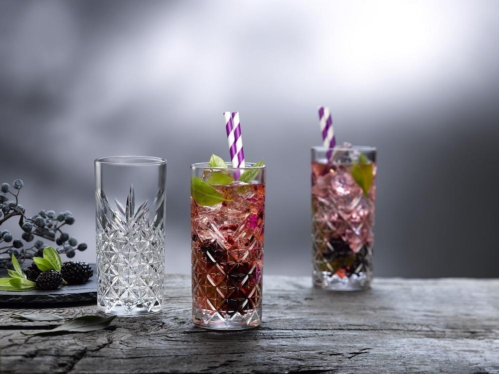Набор высоких стаканов Pasabahce Timeless 450мл*4шт